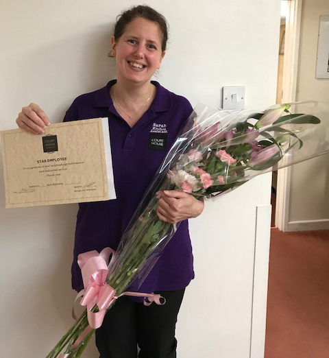 Sarah Blatchford wins Star Employee Award for May 2018