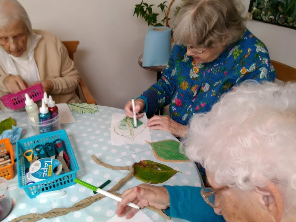 Residents creating 'Tree of Life' art project