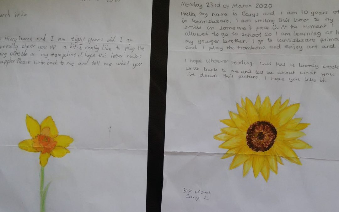 Letters from schoolchildren