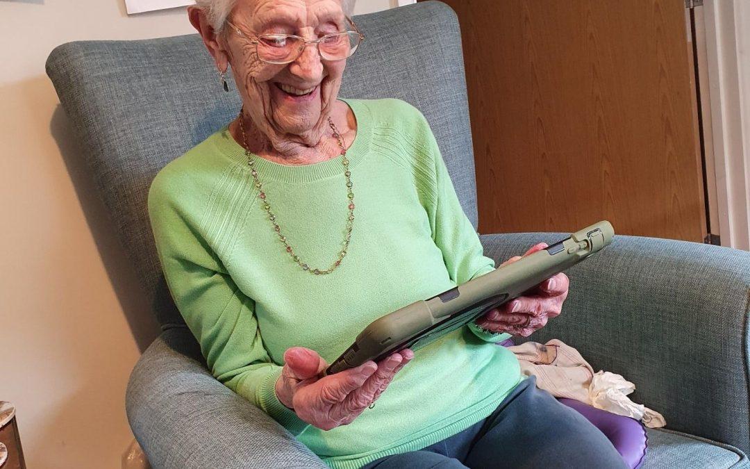 Celebrating at 97 online